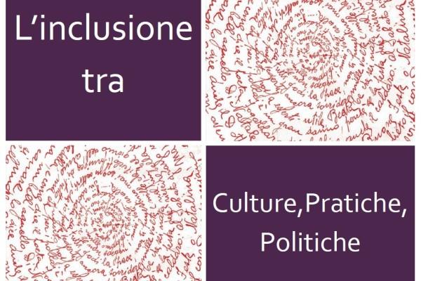 Logo evento Inclusione tra Culture,, Pratiche, Politiche
