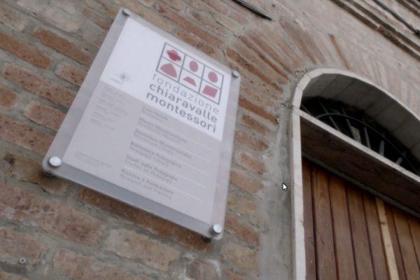 Targa Fondazione Chiaravalle - Montessori