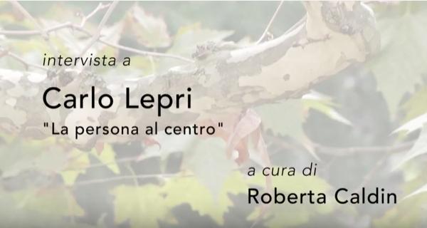 Copertina del video intervista a Carlo Lepri